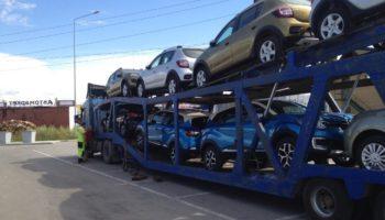 Перевозка автовозом
