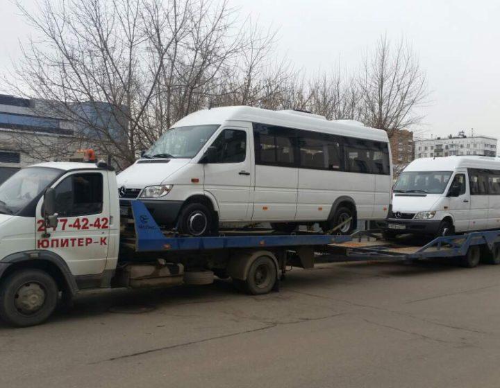 Эвакуаторы ВАЛДАЙ с прицепом на 1 автомобиль