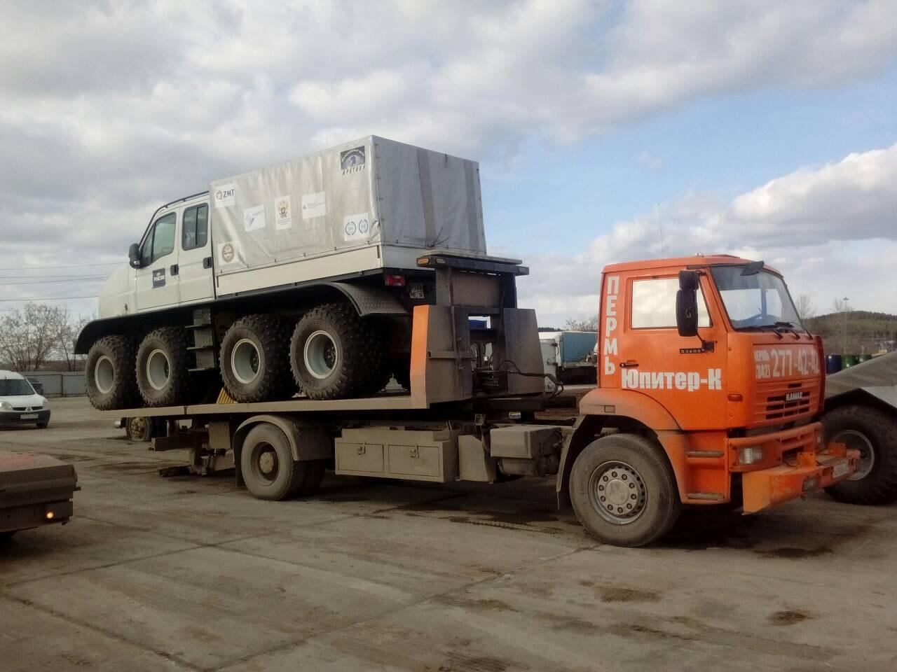 Заказ эвакуатора в Перми, служба эвакуации