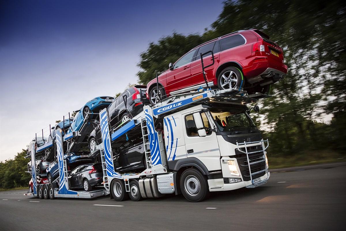 Особенности перевозки ТС автовозом