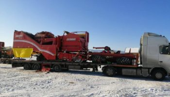 Перевозка негабаритных грузов
